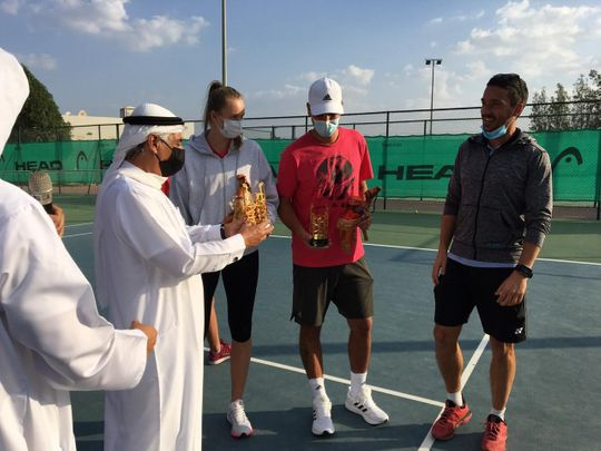 Elena Rybakina helps Fujairah set up a big tennis break