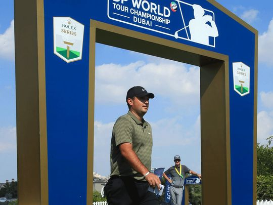DP World Golf Championship: Frenchman Victor Perez sets the early pace at Earth course