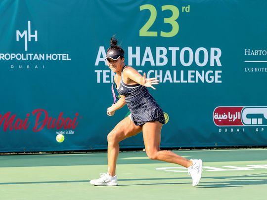 Tennis star Heather Watson smitten by Dubai at Al Habtoor Tennis Challenge