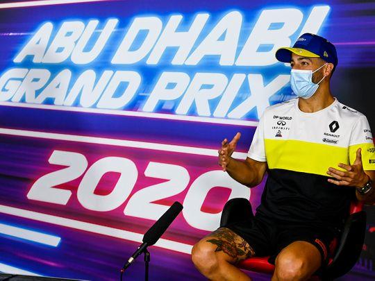 Abu Dhabi is a step above: Renault's Daniel Ricciardo hails COVID-19 safety measures ahead of Formula One Grand Prix