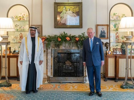 In Pictures: Sheikh Mohamed bin Zayed on an official visit to the UK