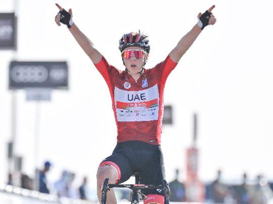 Tour de France winner Tadej Pogacar commits to UAE Team Emirates until 2026