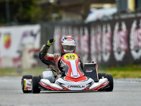 UAE youngster Rashid Al Dhaheri continues sensational racing season